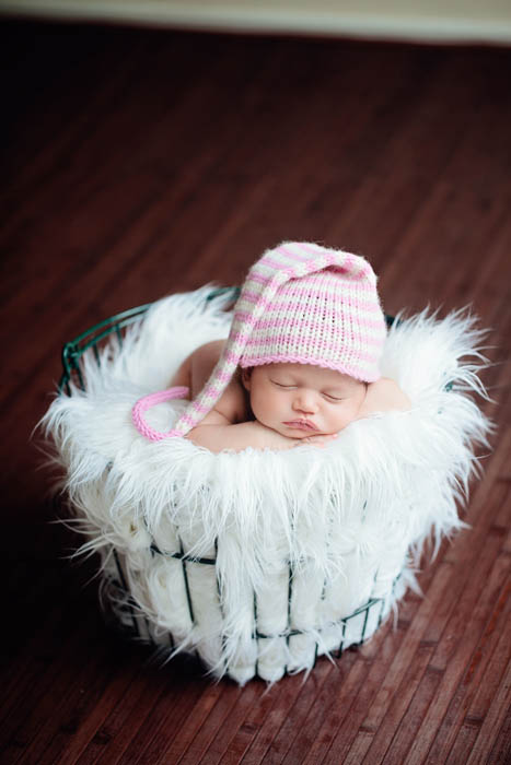Tutorial photographing newborns in natural light